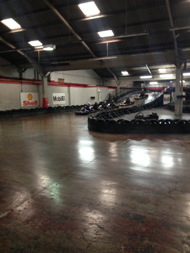 Review of the Fianium Unofficial Company Karting event (4/5)