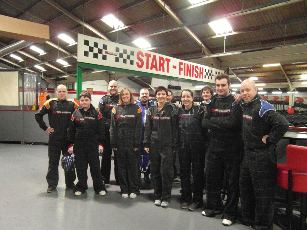 Review of the Fianium Unofficial Company Karting event (1/5)
