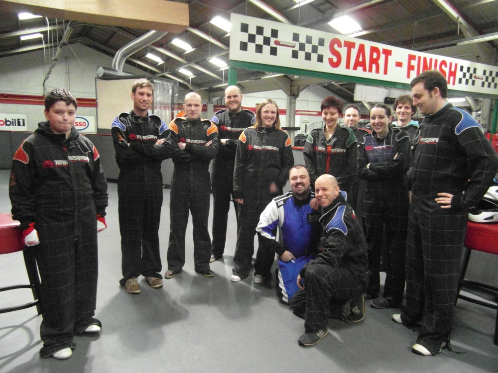 Review of the Fianium Unofficial Company Karting event (2/5)
