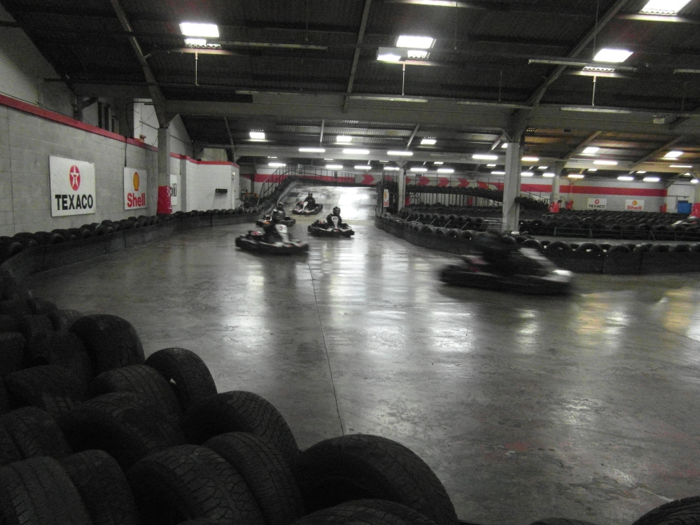 Review of the Fianium Unofficial Company Karting event (3/5)