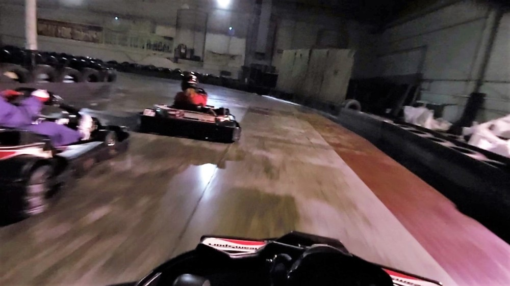 Racing with rookie drivers just means new people crashing into you (3/6)